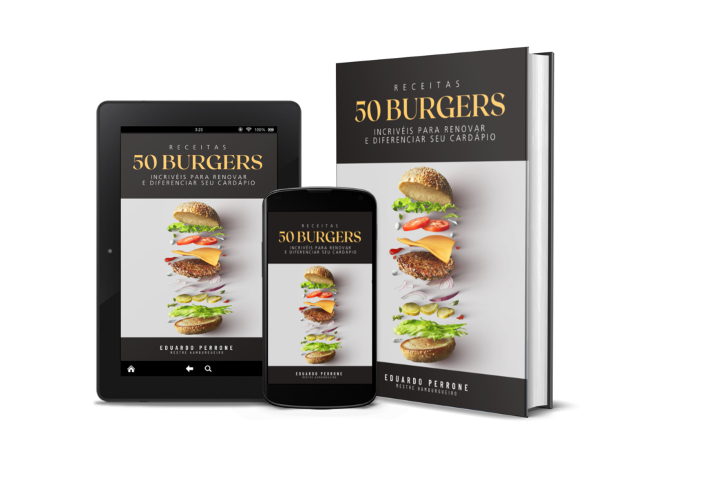 Ebook 50 receitas de hambúrguer